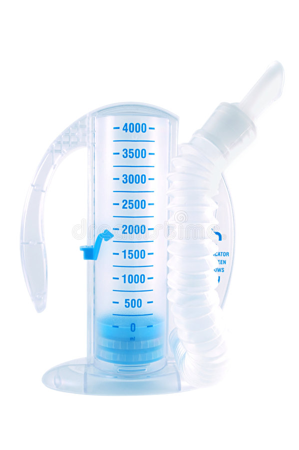 Free Respiratory Testing Device Royalty Free Stock Photography - 1948187