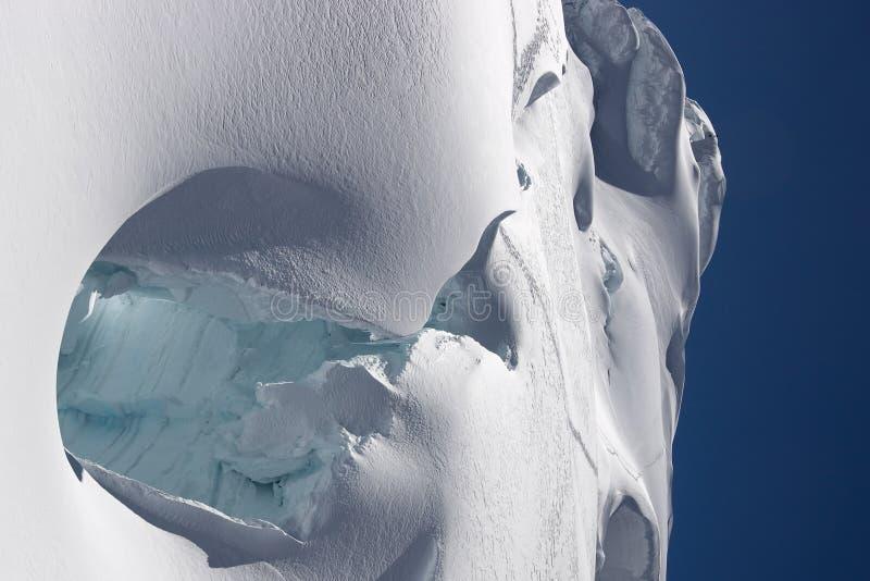 Resplandor del hielo imágenes de archivo libres de regalías