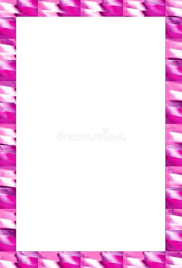 Resplandor del marrón de la frontera ilustración del vector