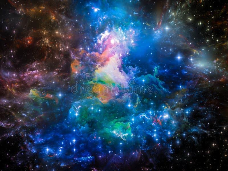 Resplandor del universo fotografía de archivo
