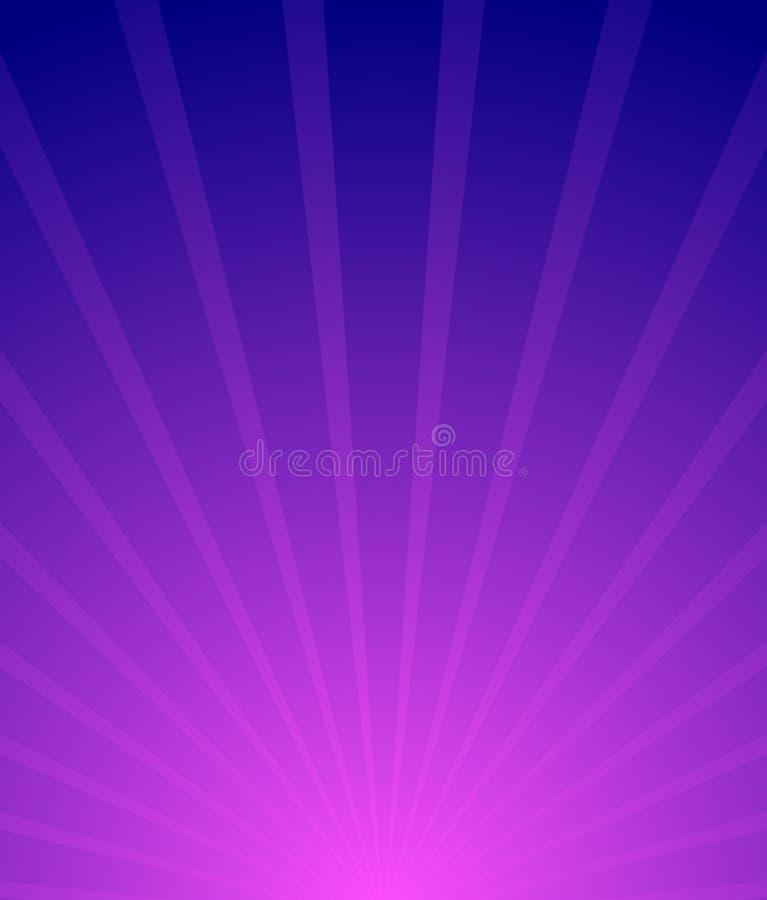 Resplandor solar, fondo de Starburst Convergente-radiación de las líneas resumen libre illustration