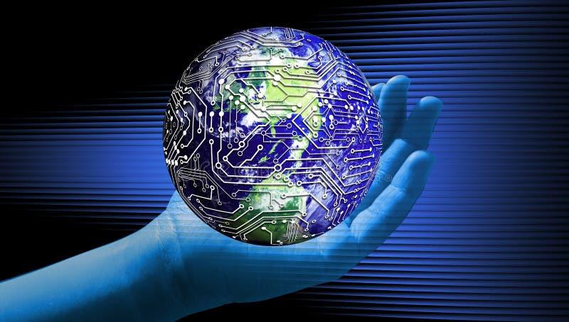 Responsabilit? d'affaires d'environnement de durabilit? de la terre illustration stock