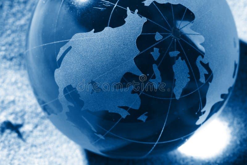 responsabilité environnementale de globe photo libre de droits