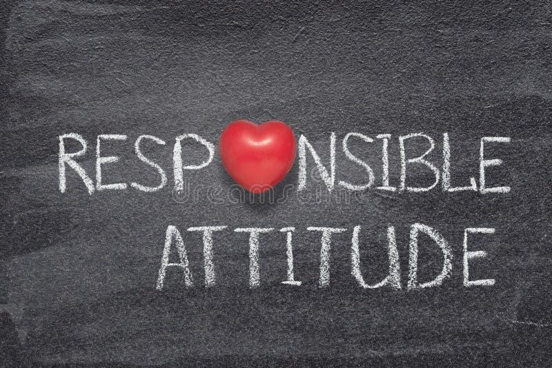 Responsible attitude heart royalty free stock photography