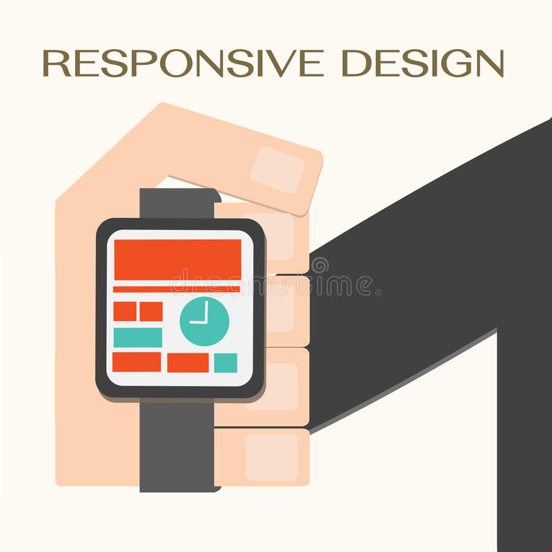 Download Responsive Web Design stock vector. Illustration of design - 35397022