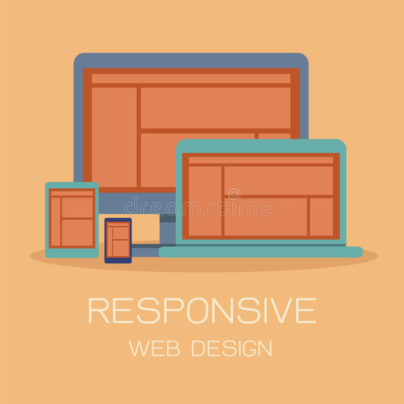 Download Responsive Web Design Royalty Free Stock Photography - Image: 32112167