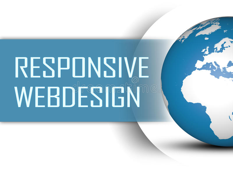 Responsive Webdesign royalty free stock photo