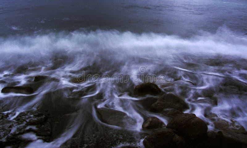 Ressaca do mar imagens de stock royalty free