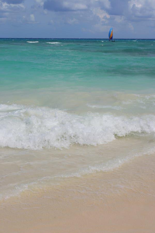 Ressaca do oceano fotografia de stock
