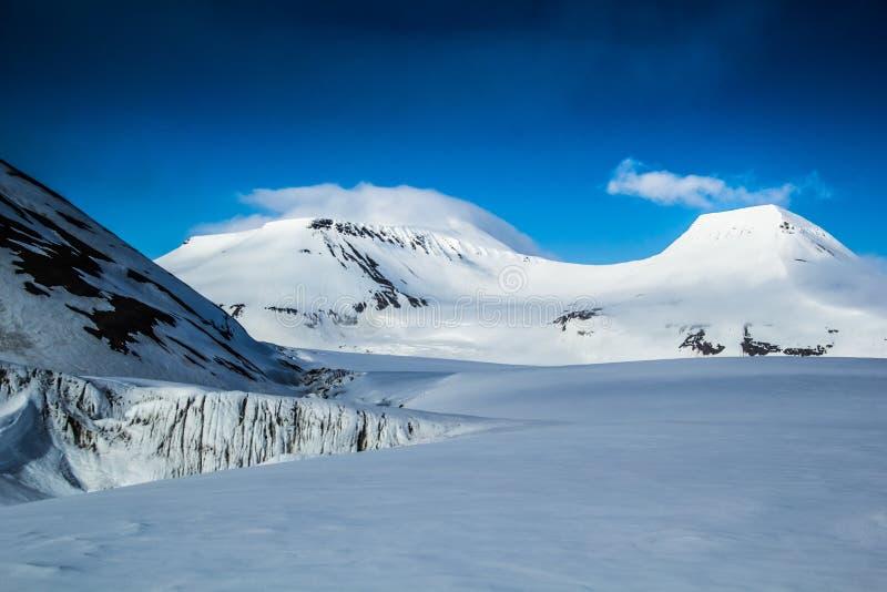 Ressort arctique dans le Spitzberg du sud images libres de droits
