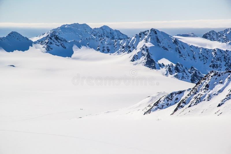 Ressort arctique dans le Spitzberg du sud photos libres de droits