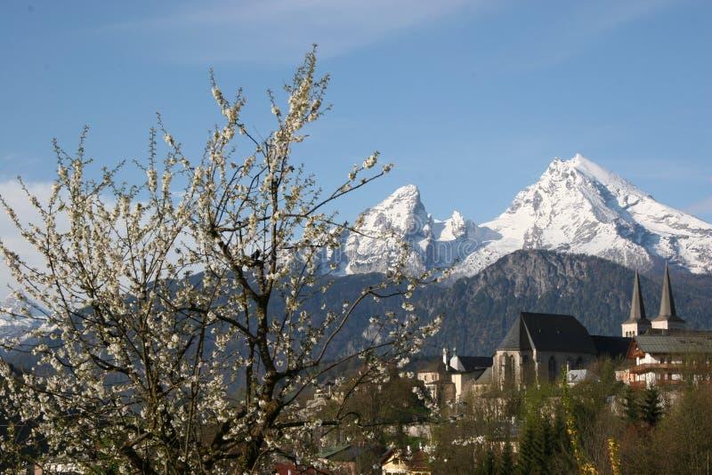 Ressort dans Berchtesgaden photos stock