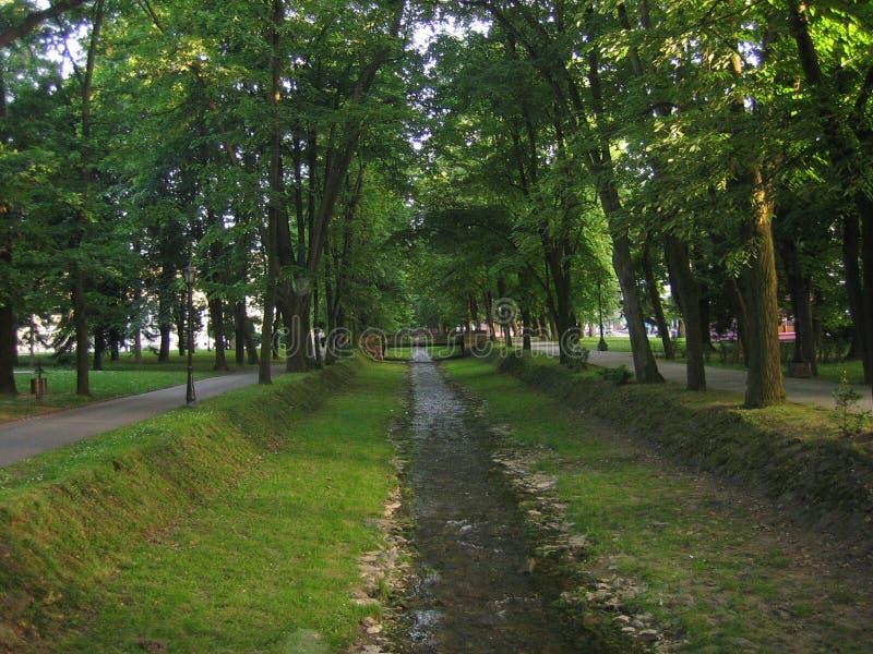Ressort dans le banja de Vrnjacka photographie stock libre de droits