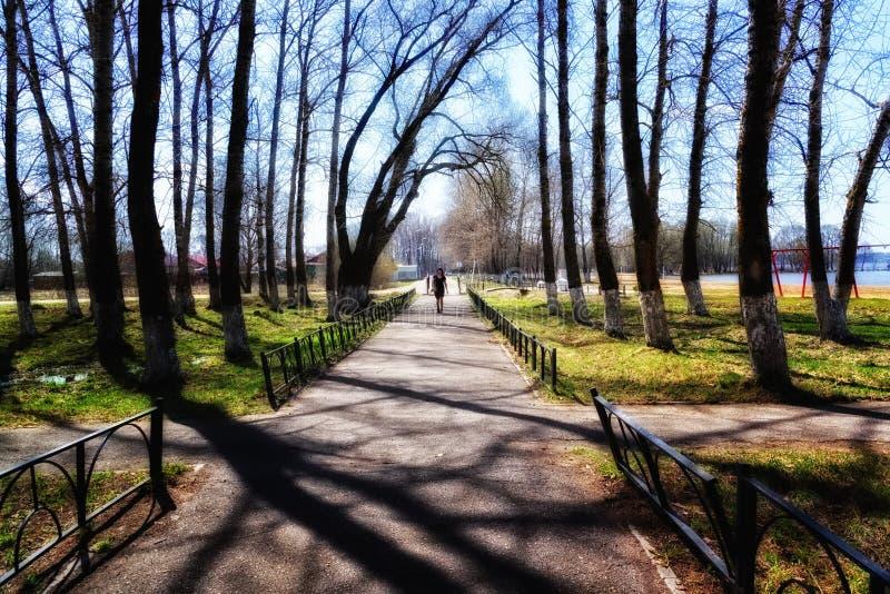 Ressort en parc photos libres de droits
