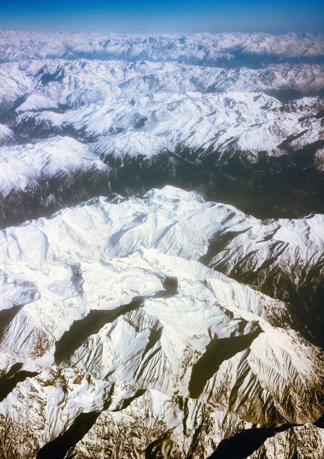 Ressort Karakorum de vue et l'Himalaya image libre de droits