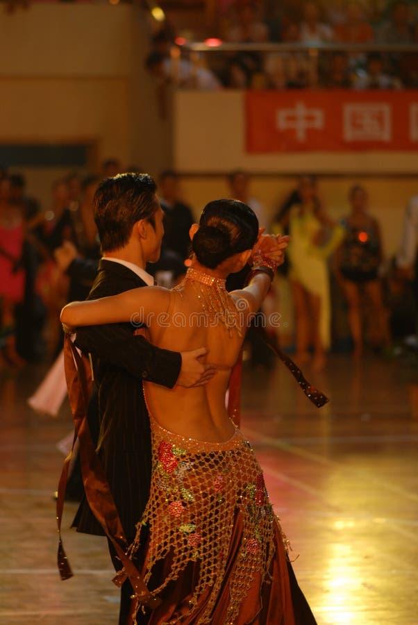 Ressortissant arrière de danse de norme internationale de la vue-Chine Nan-Tchang ouvert photo stock