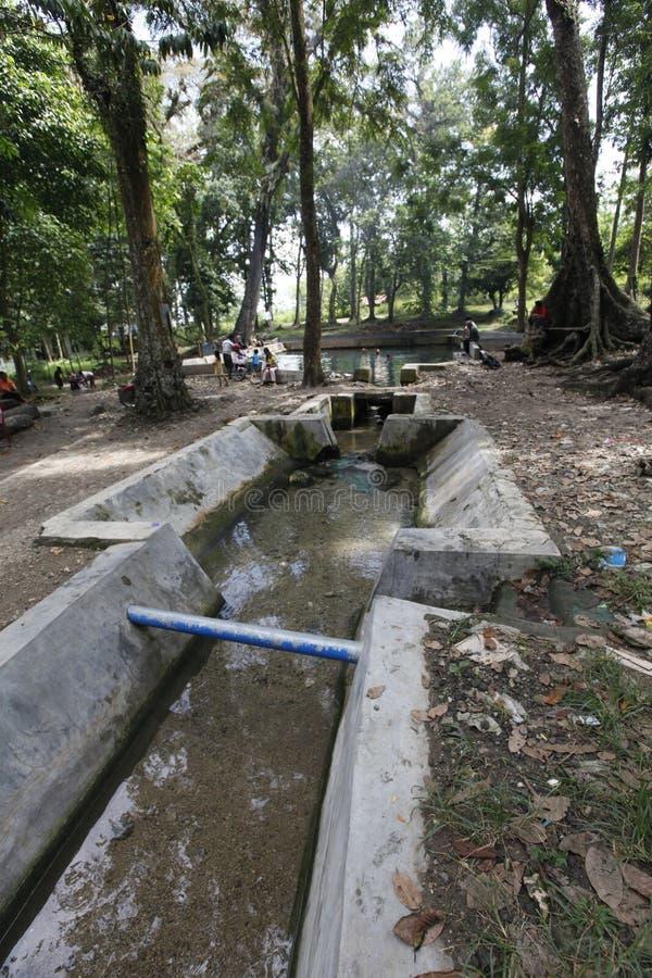 Ressorts d'eau douce photographie stock libre de droits