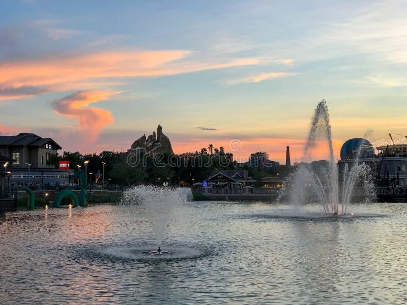 Ressorts de Disney, Orlando, la Floride photographie stock libre de droits