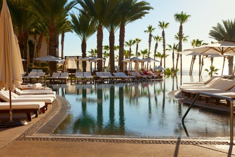 Ressource de luxe dans Cabo San Lucas, Mexique image libre de droits