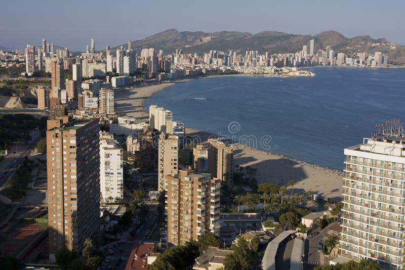 ressource Espagne de benidorm images stock