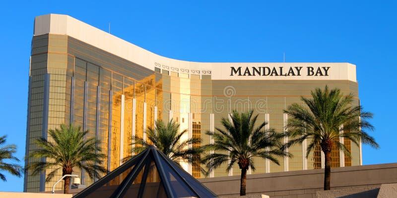 Ressource et casino de compartiment de Mandalay images stock