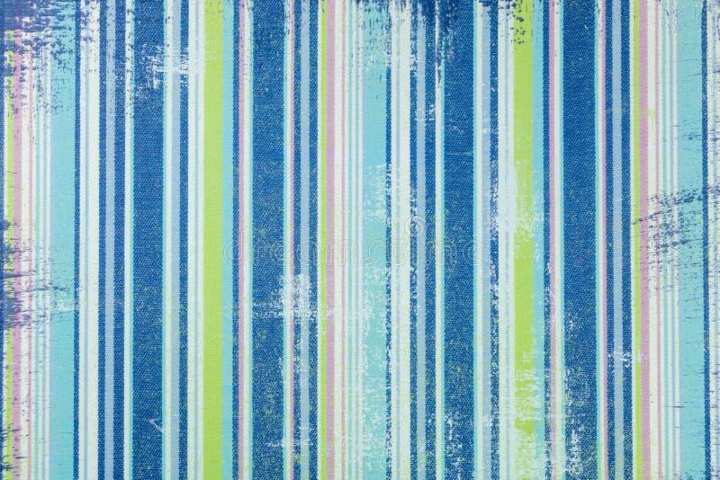 Ressource graphique pour le garçon, dans le vieux style de jeans, avec les rayures verticales dans des tons bleus photos stock