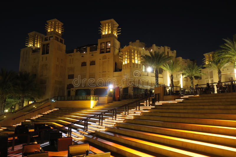 Ressource Madinat Jumeirah, Dubaï photographie stock