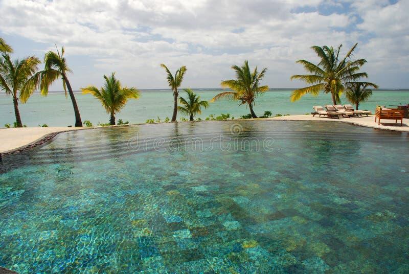 Ressource tropicale mauritius images libres de droits
