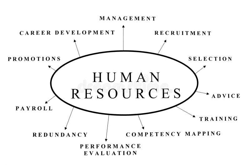 Ressources humaines images libres de droits