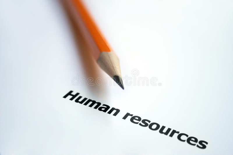 Ressources humaines images stock