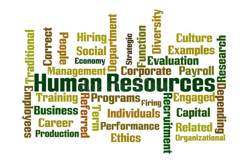 Ressources humaines illustration libre de droits