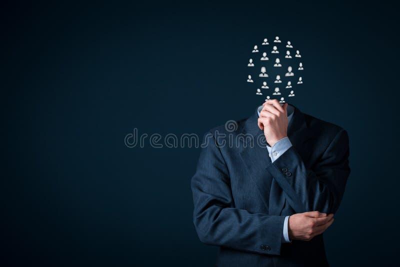 Ressources humaines et concept d'équipe images stock