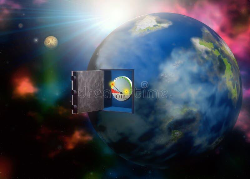 Ressources naturelles de la situation de la terre photo libre de droits
