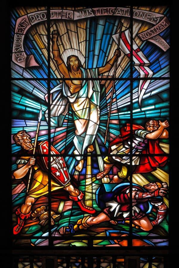 Ressurrection de Christ fotos de stock royalty free