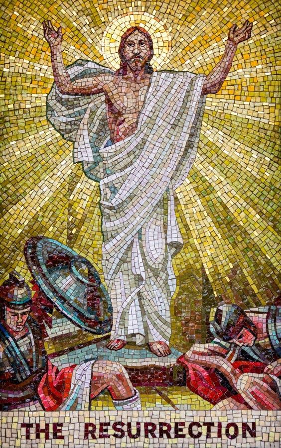 A ressurreição fotografia de stock
