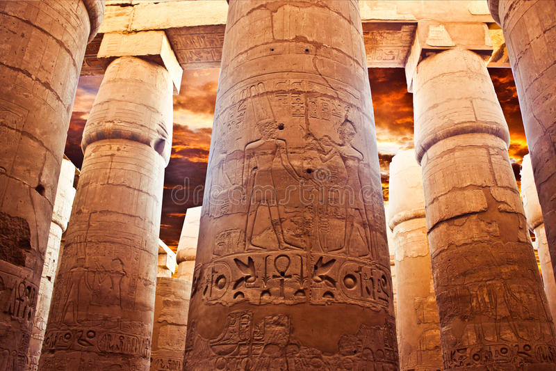 A ressurreição do Pharaoahs foto de stock