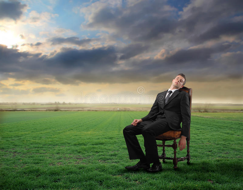 Rest royalty free stock photo