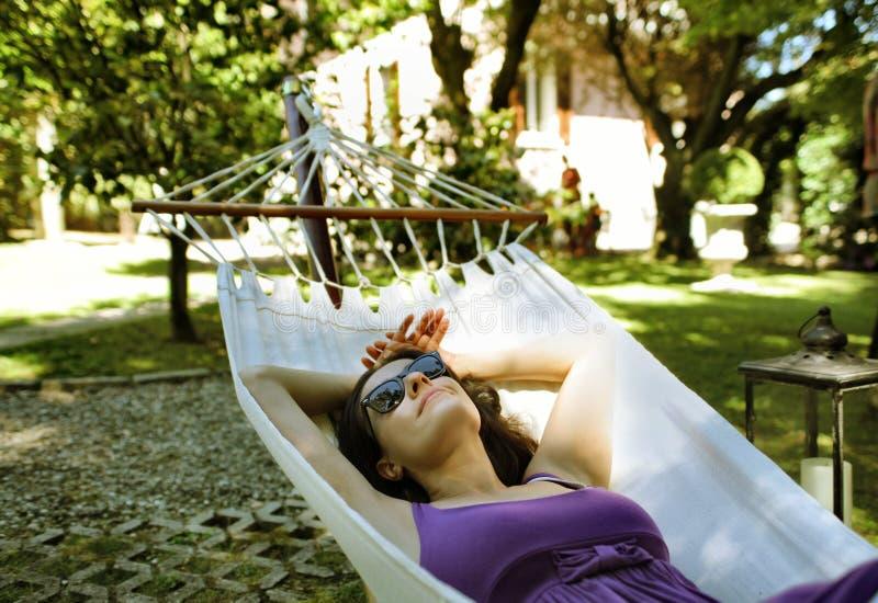 Download Rest stock photo. Image of garden, female, sleep, comfort - 15261510