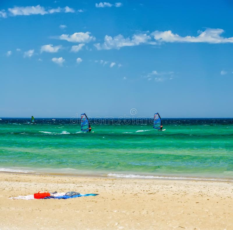Rest on the Australian Pacific coast. The beach at Chelsea, Melbourne. The State Of Victoria stock photos