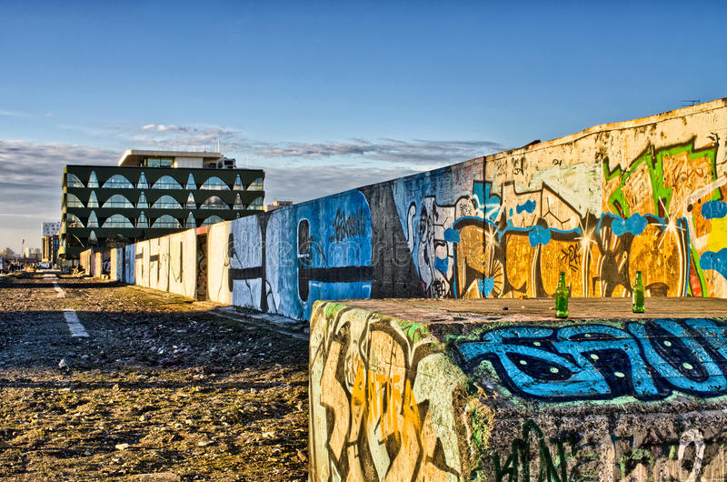 The rest of Berlin Wall royalty free stock image