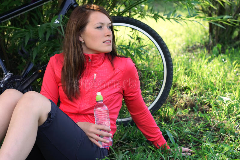 Download Rest after bicycling stock image. Image of looking, activity - 10893811