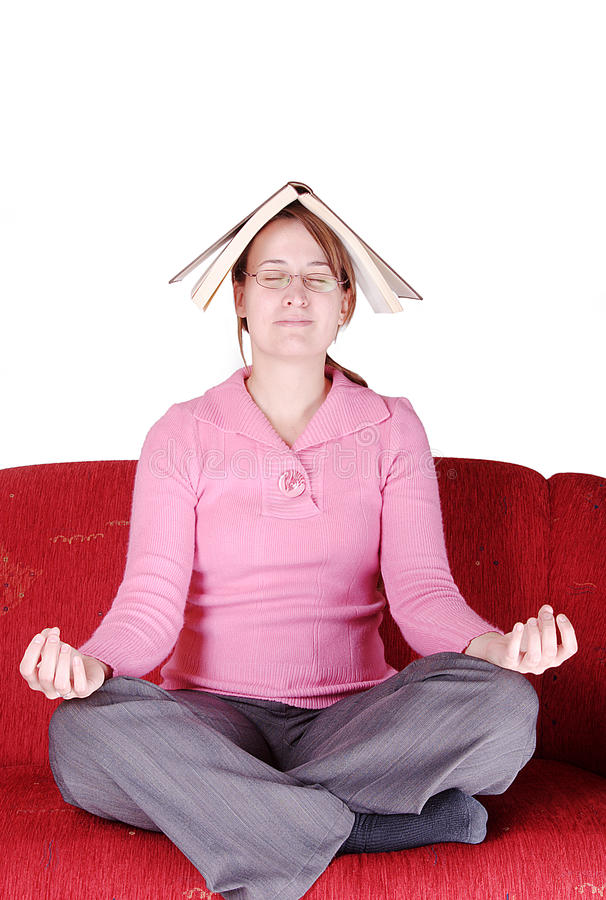 Download Rest with a book stock image. Image of free, concentrate - 9966411