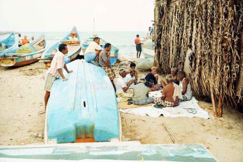 Rest of fishermen royalty free stock image