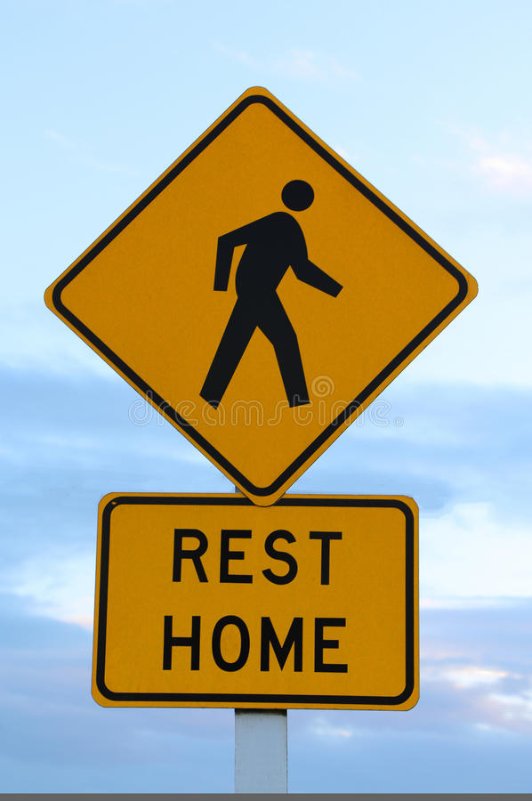 Download Rest Home Sign stock image. Image of informative, home - 27094615