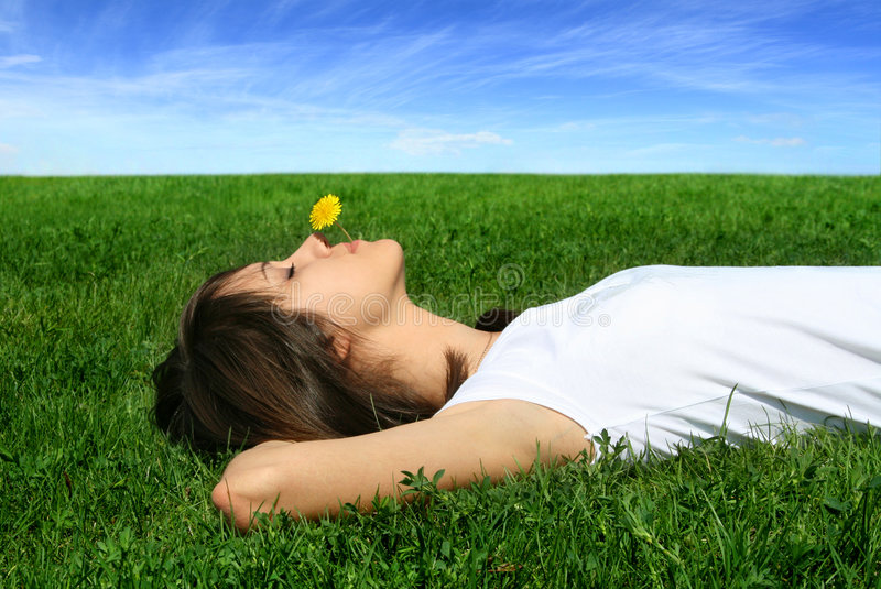 Download Rest with nature stock image. Image of happiness, sunny - 7859231