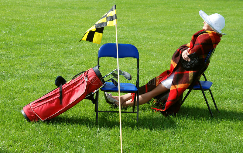 Download Rest and play stock photo. Image of attractive, flag - 13434126