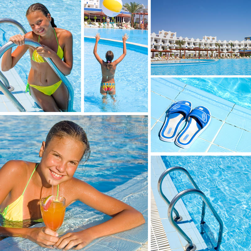 Download Rest At Pool Royalty Free Stock Images - Image: 16152509