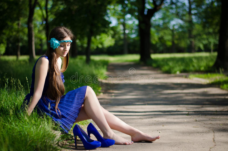 Rest By The Road Royalty Free Stock Image