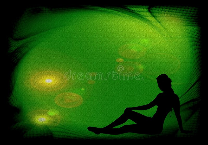 Download Rest of a woman stock illustration. Image of colors, relaxing - 6684146
