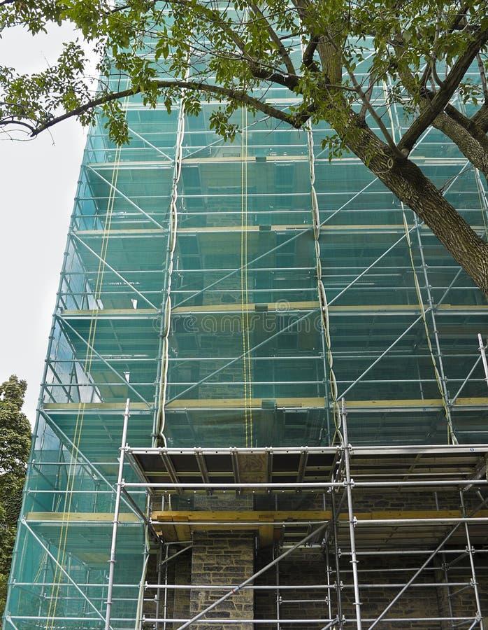 Restauração do edifício histórico fotografia de stock royalty free